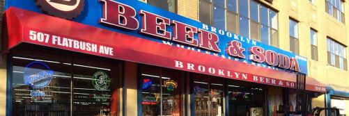 Brooklyn Beer and Soda Flatbush Avenue